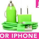 Iphone 5 Charger (green) -..