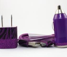 Divalicious II - Purple Plum iPhone Charger